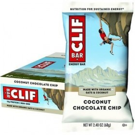 CLIF BAR Coconut Choc Chip - 12x68g