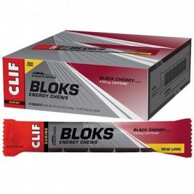 CLIF BLOKS ENERGY CHEWS Black Cherry - 18x60g