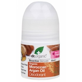 DR ORGANIC Roll-on Deodorant  Organic Moroccan Argan Oil 50ml