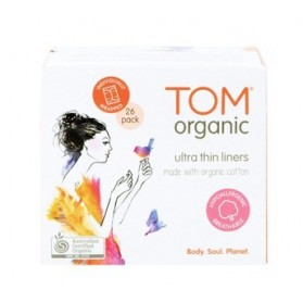 TOM ORGANIC Wrapped Panty Liners 26