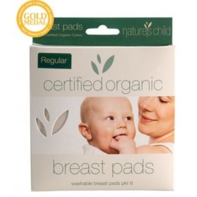 NATURE'S CHILD Regular Cotton Breast Pads 6 pack