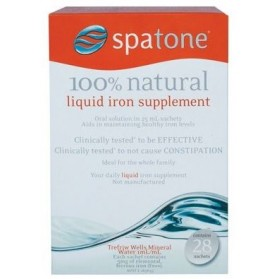 MARTIN & PLEASANCE Spatone Liquid Iron Supplement Sachets 28x25ml