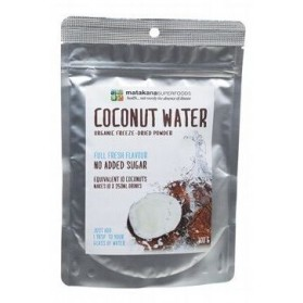 MATAKANA SUPERFOODS Coconut Water Powder Freeze Dried 100g