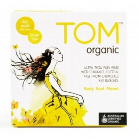 TOM ORGANIC Ultra Thin Day Pads 10