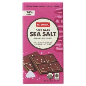 ALTER ECO Chocolate (Organic) Dark Sea Salt 80g