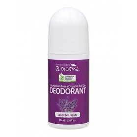 BIOLOGIKA Lavender Fields Roll-On Deodorant 70ml