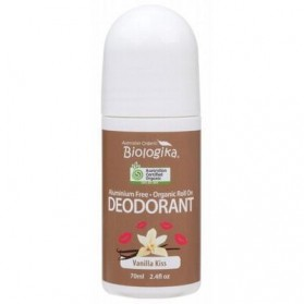 BIOLOGIKA Roll-on Deodorant  Vanilla Kiss 70ml