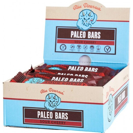 BLUE DINOSAUR Paleo Bars  Sour Cherry - Box Of 12 12x45g