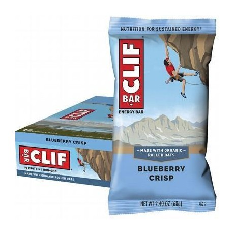 CLIF BAR Blueberry Crisp - 12x68g