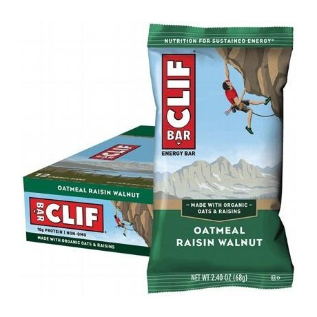 CLIF BAR Oatmeal Raisin Walnut - 12x68g