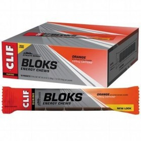 CLIF BAR Orange (25mg Caffeine) Display Box Of 18 18 x 60g