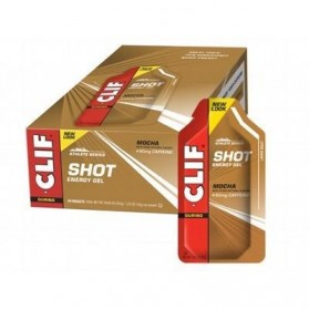 CLIF BAR Mocha (50mg Caffeine)  Display Box Of 24 24x34g