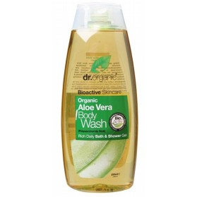 DR ORGANIC Body Wash  Organic Aloe Vera 250ml