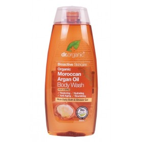 DR ORGANIC Body Wash  Organic Moroccan Argan Oil 250ml