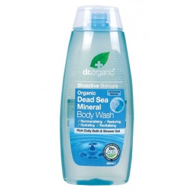 DR ORGANIC Body Wash  Organic Dead Sea Mineral 250ml