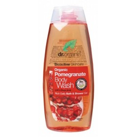 DR ORGANIC Body Wash  Organic Pomegranate 250ml