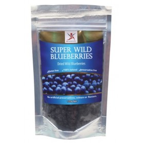 DR SUPERFOODS Super Wild Blueberries  Dried Wild Blueberries 125g