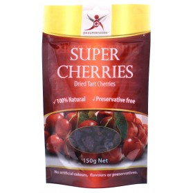 DR SUPERFOODS Super Cherries  Dried Tart Cherries 150g