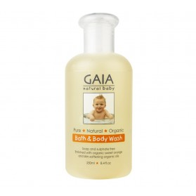 GAIA NATURAL BABY Baby Bath & Body Wash 250ml