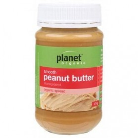 PLANET ORGANIC Peanut Butter  Smooth 375g