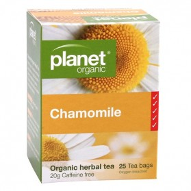 PLANET ORGANIC Herbal Tea Bags  Chamomile 25 bags