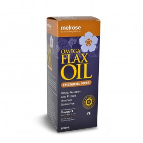 Melrose Oil Flaxseed Chemical Free 500ml