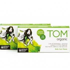 TOM ORGANIC Regular Tampons 16