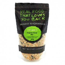 Honest to Goodness ORGANIC SOUP MIX 500G Honest to Goodness