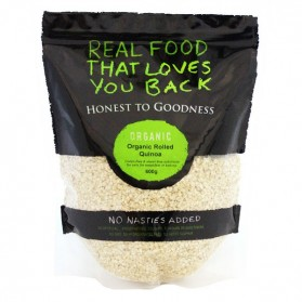 Honest to Goodness ORGANIC ROLLED-FLAKED QUINOA 600G