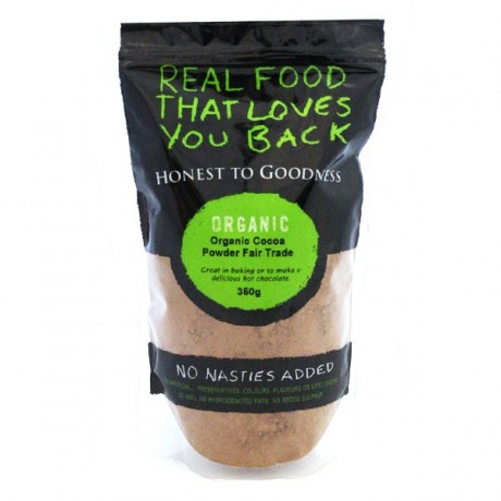 Honest to Goodness ORGANIC COCOA POWDER 350G