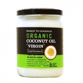 Honest to Goodness ORGANIC COCONUT OIL VIRGIN 500ML