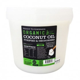 Honest to Goodness ORGANIC COCONUT OIL PURIFIED/DEODORISED 5L