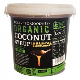 Honest to Goodness ORGANIC COCONUT SYRUP 1L