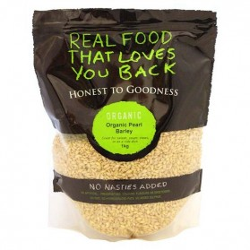 Honest to Goodness ORGANIC BARLEY PEARLED 1KG