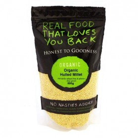 Honest to Goodness ORGANIC MILLET HULLED 500G