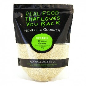 Honest to Goodness ORGANIC WHITE QUINOA 1KG