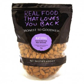 Honest to Goodness ALMONDS RAW INSECTICIDE FREE 1KG