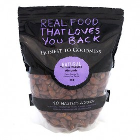 Honest to Goodness ALMONDS TAMARI ROASTED INSECTICIDE FREE 1KG