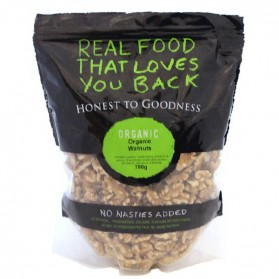 Honest to Goodness ORGANIC WALNUT KERNELS COMBO HALVES & PIECES 750G