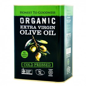 Honest to Goodness ORGANIC OLIVE OIL EXTRA VIRGIN 3L