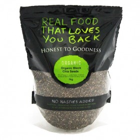 Honest to Goodness ORGANIC CHIA SEEDS BLACK 1KG