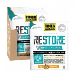 PROTEIN SUPPLIES Restore Hydration Tropical Fruits - 16x10g
