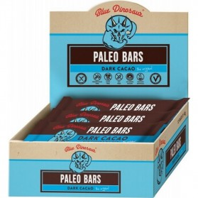 BLUE DINOSAUR Dark Cacao Paleo Bar 12x45g