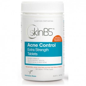 SKIN B5 Acne Control Extra Strength Tablets 180 tabs