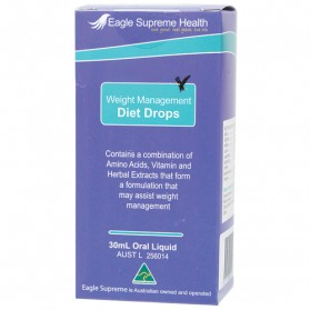 EAGLE SUPREME Weight Management Diet Drops - 30ml