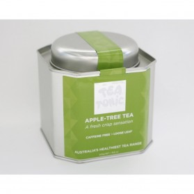 Apple-Tree Tea Caddy Tin