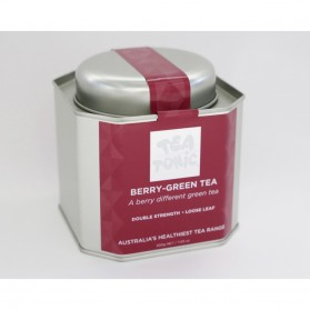 Berry-Green Tea Caddy Tin