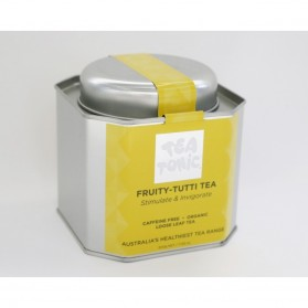 Fruity-Tutti Tea Caddy Tin