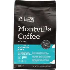 MONTVILLE COFFEE Woodford Plunger - 250g