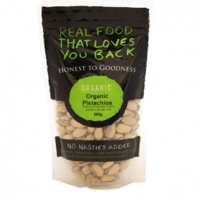 Organic Pistachio Oven Roasted and Lightly Salted 300g